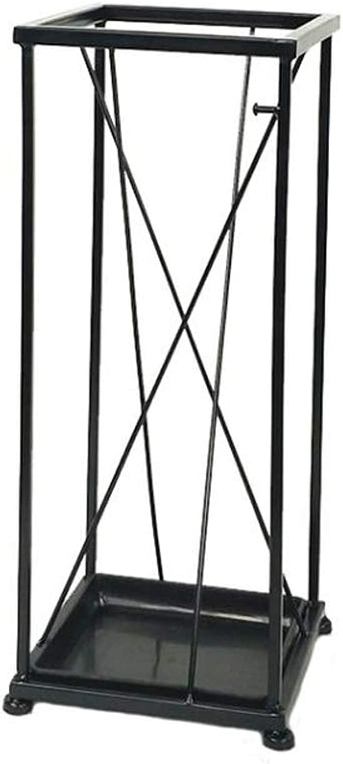 LIYONG Simple Modern Art Style Umbrella Stand Creative Metal Craft Frame Structure Umbrella Stand