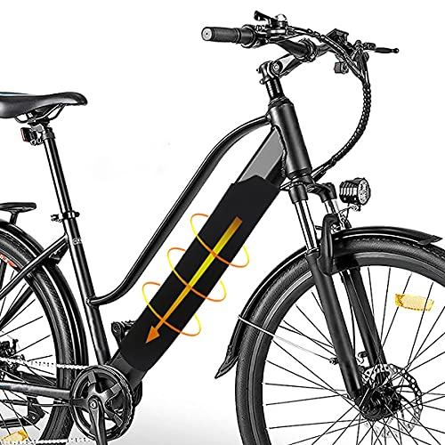 Orgrul Universal E-Bike Schutzhülle Standard für Akku, Passend für Rohrumfang von 30 cm bis 40 cm, Unisex – Erwachsene Akkuschutz Abdeckung im Unterrohr Batterie-Thermo-Cover, Schwarz, Einheitsgröße