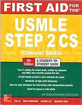 FIRST AID FOR THE USMLE STEP 2CS 6E
