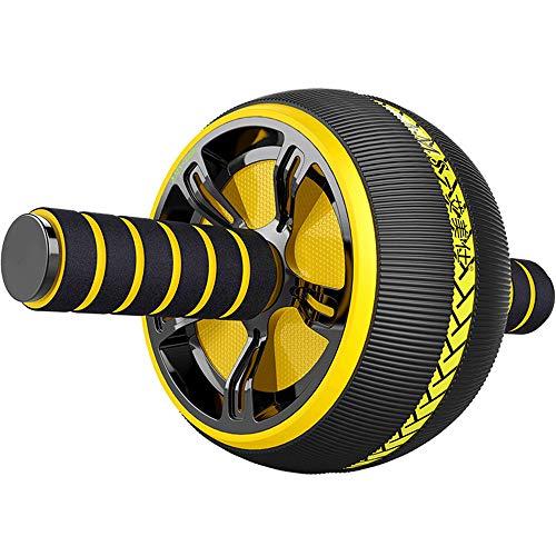 Ab Roller Wheel Kit - AB Bauchbewegung Roller Wheel Core Training Sportgeräte und Fitness Anti-Rutsch-Griff Extra Breit - Geeignet für Heimturnen