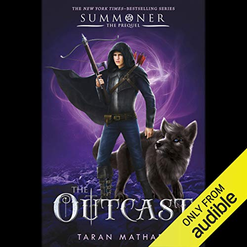 The Outcast audiobook cover art
