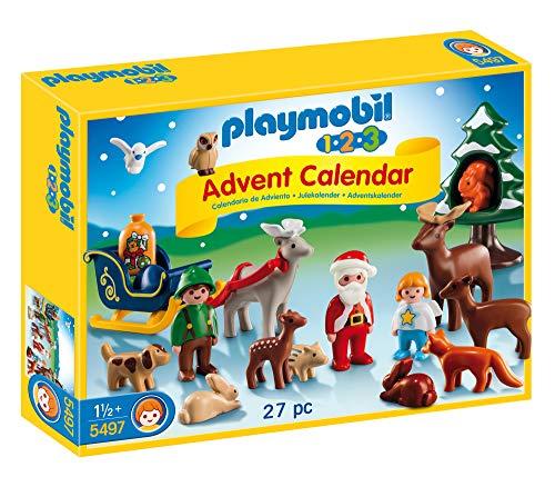 Playmobil Calendario de Adviento - Pack Navidad en el Bosque (5497)