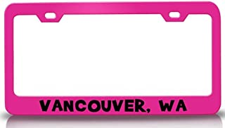 Custom Brother - Vancouver WA USA Canada Steel License Plate Frame Tag Holder Pn