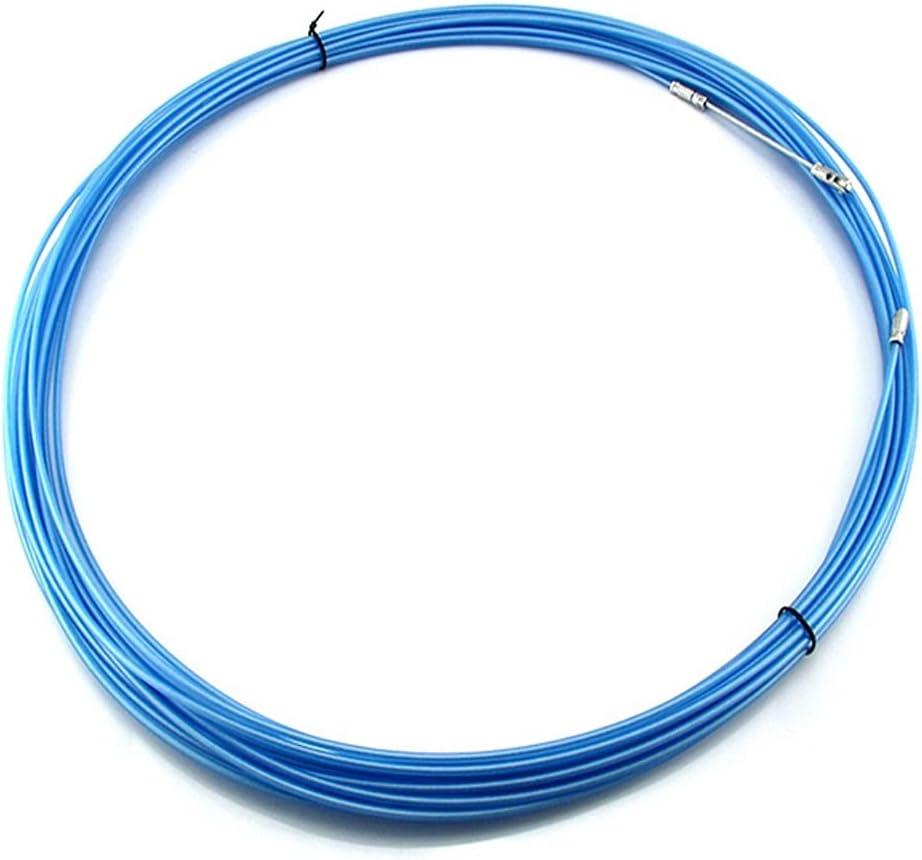 Extractor Cables Extractor Enhebrador Cables,Cinta Electricista,Conducto,Conductos,Extractor Cables,Herramientas,Empuje Rueda Para Instalación Cableado,50M