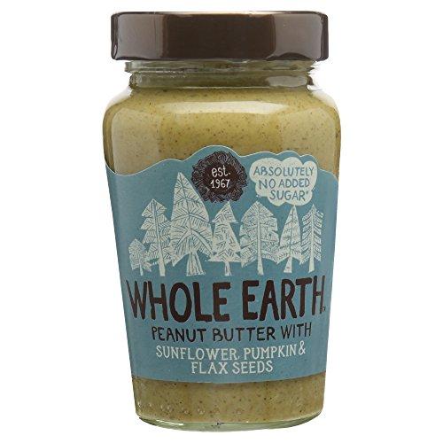 Whole Earth Peanut Butter with Sunflower Pumpkin & Seeds, 340g