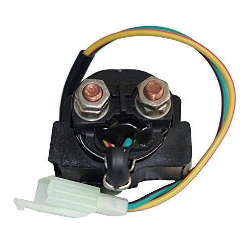 Motadin Starter Relay Solenoid compatible with Yamaha RAPTOR 90 YFM90 2009-2013