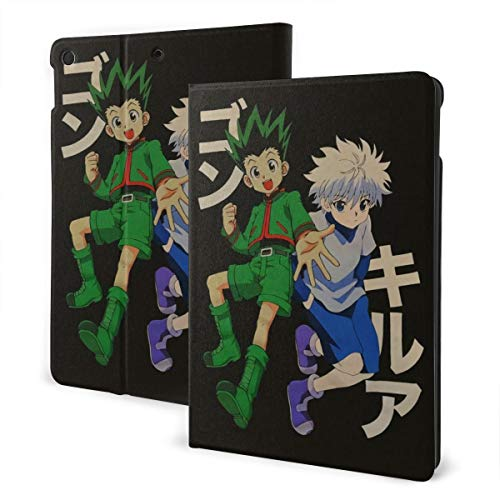 Inspired by Hunter X Hun-TER for Ipad 7th 10.2 Inch Case Ipad Air3 10.5inch Case Ipad Case Ipad Shell Protective Cover Anti-Fall Leather Stand Case Ipad 7th 10.2'' One Size