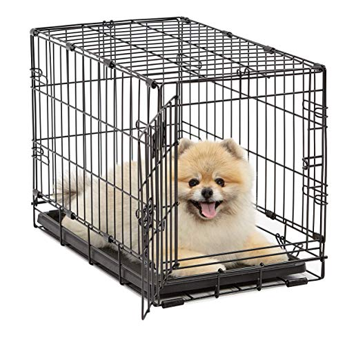 Dog Crate 1522| MidWest, Crate XS Folding Metal Dog Crate w/...