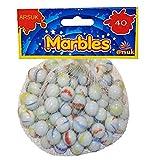 ARSUK Cat'S Eye Color Glass Marble Runs, Viene en una Bolsa, protección contra daños, Juguetes Deportivos y Juegos al...