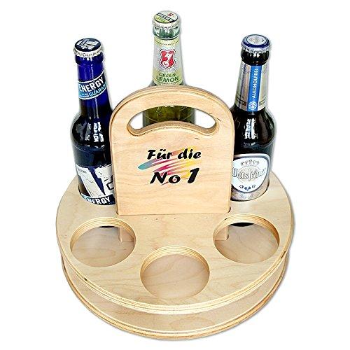 Boystoys.de Bierträger aus Holz rund Für die No 1