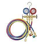 OEMTOOLS 24563 Manifold Gauge Set, r134a Manifold Gauge Set, Automotive Air Conditioning Tools, Refrigerant Manifold Gauge Set