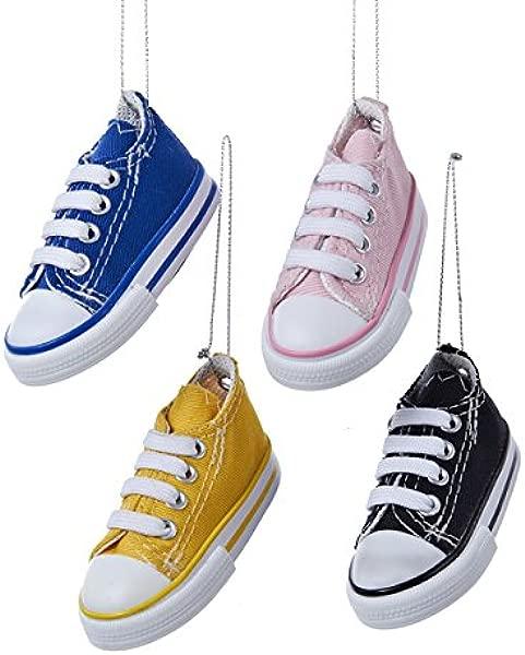 Kurt Adler 3 34 Sneaker Ornament 4 Asstd