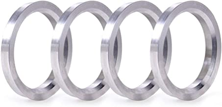 ZHTEAPR 4pc Wheel Hub Centric Rings 106 to 78.1 OD 106mm ID 78.1mm - Aluminium Alloy Wheel Hubrings 78.1 to 106