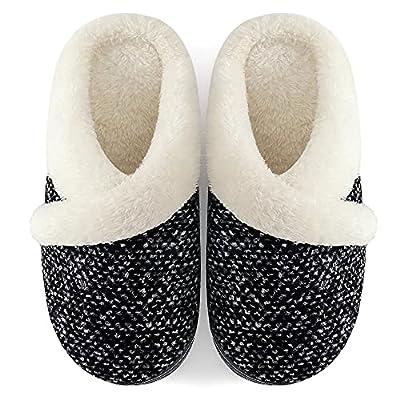 Amazon - 10% Off on Women's Cozy Memory Foam Slippers Slip on House Slippers Fuzzy Wool