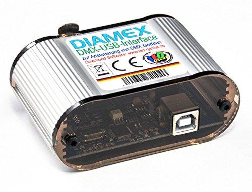DMX-USB-Interface für WS2812B , SK6812 u.a.