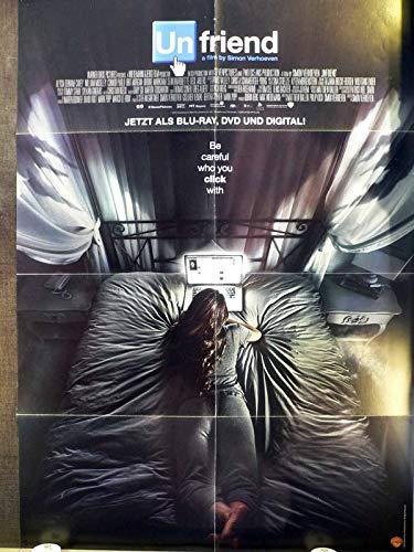 Unfriend - Alycia Debnam-Carey - Videoposter A1 84x60cm gefaltet (g)