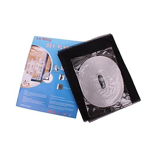 Ndier Mosquitera magnética para Ventana mosquitera para protección de Insectos Cortina para Ventana 150 x 130 cm