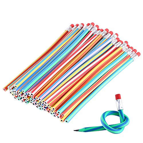 GRAPPLE DEALS New Look Amazing Foldable Pencils with Eraser, Best Birthday Return Gift for Kids (Pack of 5)