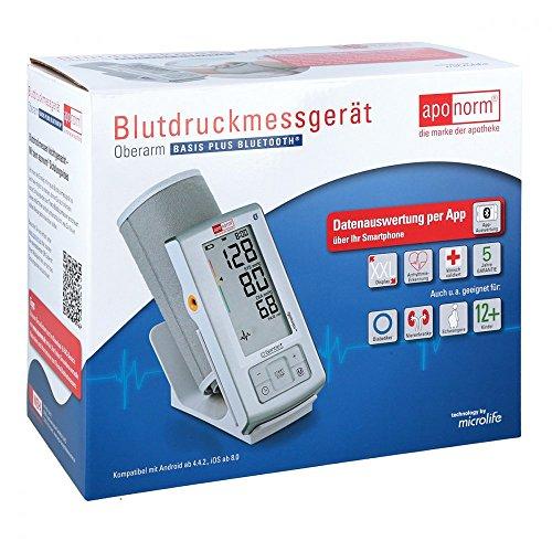 APONORM Blutdruck Messgerät Basis Plus BT Oberarm 1 St
