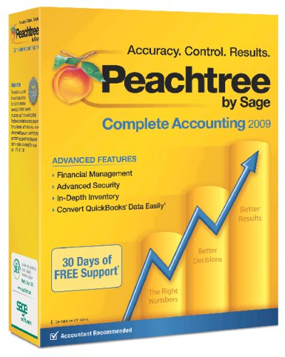 Peachtree By Sage Complete Accounting 2009 [OLD VERSION]