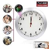 Hidden Camera Clock ZXWDDP Home Nanny Wall Clock Camera 1080P