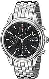 Bulova Men's 63C106 Gemini Analog Display Swiss Automatic Silver Watch