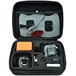 GoPro Hero 8 Action Camera with 2 Total Batteries, Two Sandisk 32GB Extreme MicroSD Cards, GoPro Shorty Tripod, Head… 9 Streamlined design - The reimagined shape is more pocketable, and folding fingers at the base let you swap mounts quickly. A new side door makes changing batteries even faster, and the lens is now 2x more impact resistant. HERO8 Black Mods - Vloggers, pro filmmakers and aspiring creators can do more than ever imagined—with quick-loading accessories like flashes, microphones, LCD screens and more. Just add the optional Media Mod to up yourcapture game. Time Warp 2. 0 - Capture super stabilized time lapse videos while you move through an activity. And now, Time Warp automatically adjusts speed based on motion, scene detection and lighting. You can even slow down the effect to real time—savoring interesting moments—and then tap to speed it back up.
