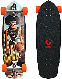 Glutier Surfskate with T12 Surf Skate Trucks. Mama...