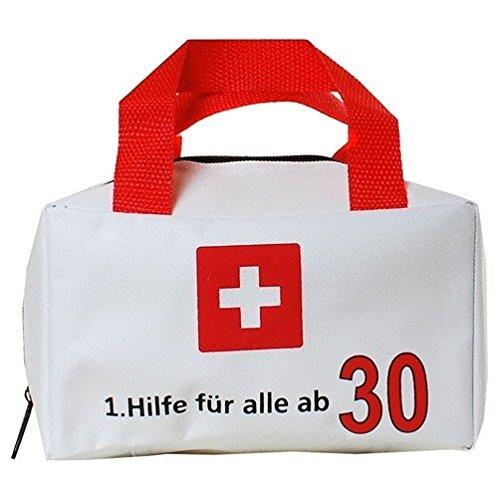 Tasche Polyester weiss  -  Tasche 1. Hilfe für alle ab 30