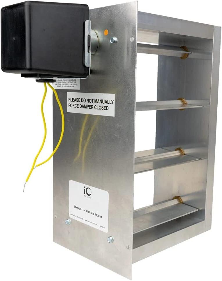iO HVAC Controls HD-3014-BM 30 Two-Position Rectangular x 14 National uniform free shipping Zon Ranking TOP2
