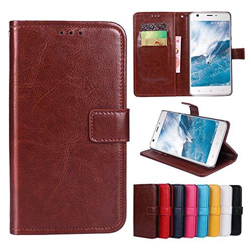 F&a® Flip Brieftasche Hülle für ZTE Nubia Z18 Mini(Muster 8)