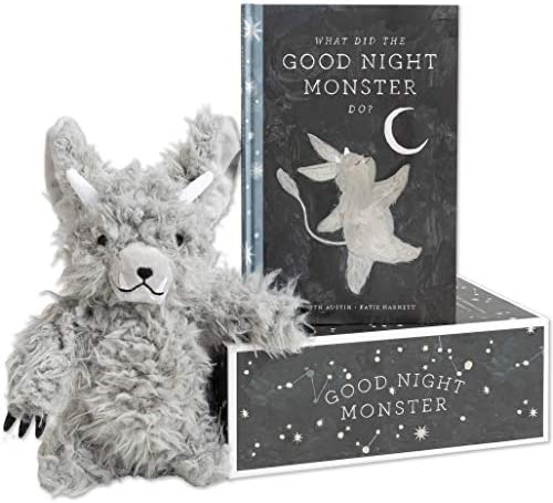 Good Night Monster Gift Set A Storybook and Plush for Sweet Dreams and Happy Bedtimes product image