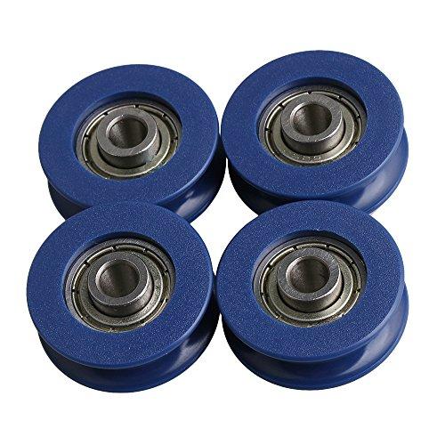 BQLZR 25.5x5x8.8mm 625ZZ Tipo U Gu¨ªa de rodamiento de bolas Rodamiento...