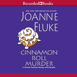 Cinnamon Roll Murder audiobook cover art