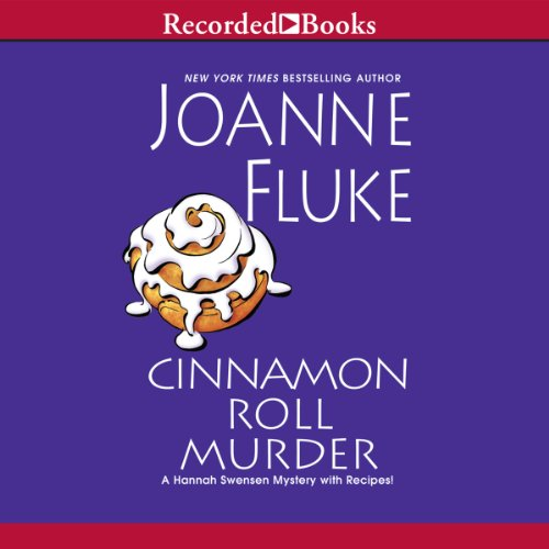 Cinnamon Roll Murder audiobook cover art