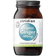 Organic Ginger Root 400mg: 90 Veg Caps