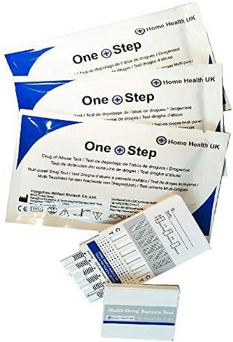 1 x Test Drogas Formato Panel - Detecta 7 Drogas en Orina: Cocaína, Cannabis (Marihuana, Hachis, THC), Heroína, Speed, Valium, Metanfetaminas y Metadona