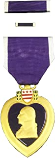 Purple Heart Medal Complete Box Set in Official Presentation Case (As Issued by US Military)