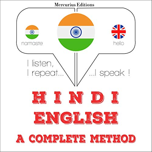 Hindi - English. a complete method cover art