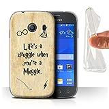 Hülle Für Samsung Galaxy Ace Style Schule der Magie Film