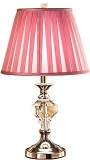 WYBFZTT-188 Style européen Petit Cristal Lampe de Table Lampe de Chevet Chambre Fille Lumière Luxe Romantique Chaud Mariag...