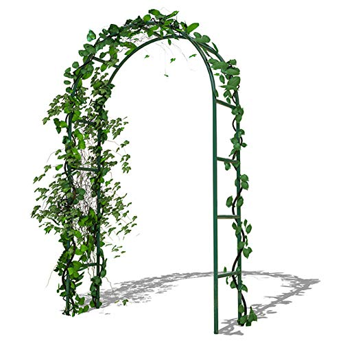 HRXQ Garden Arbors and Arches,Metal Arch Wedding Arch Decorations, Assemble Freely 3 Sizes for Various Climbing Plant Roses Vines Bridal Party Decoration Pergola Arbor (Black)