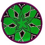 Etnico decoración Cesta panera Fruta Centro Mesa Plato Decorativo Mimbre Marocco 1110190901