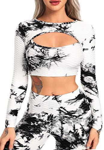 FITTOO Tops de Yoga Camiseta Deportivo para Correr Gimnasio para Mujer #4...