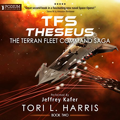 TFS Theseus audiobook cover art