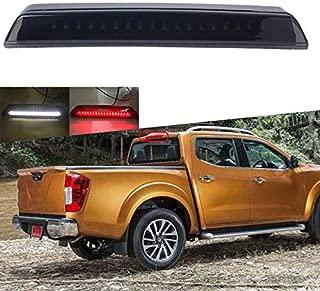 SOYAVISION High Mount Cargo Light for 2004-2015 Nissan Titan Frontier LED Rear Third 3rd Brake Light Smoke Cargo Lamp Bar