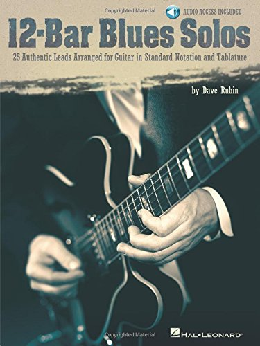12-Bar Blues Solos Tab (Book/Online Audio) (Includes Online Access Code)