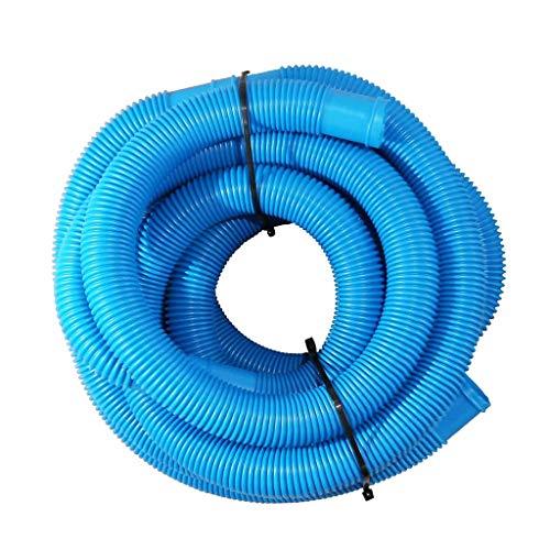 Morran Manguera Piscina Azul Con Manguitos 32mm 2m Tubo Plástico Piscinas Jardín Fabricado,adecuado Para Su Uso Como Tubería De Plástico Doméstica, Tubería De Desviación De Agua (azul)