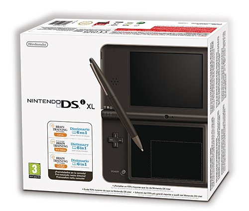 Nintendo DSi HW XL Marrón Chocolate