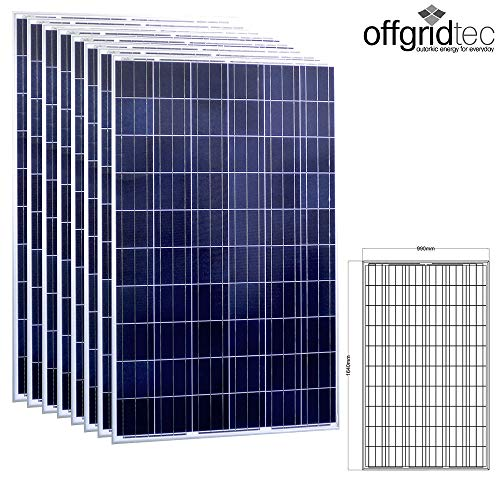 8 Stk. Offgridtec® 275W Poly 36V Solarmodul Projetktmodul Photovoltaik Solarpanel